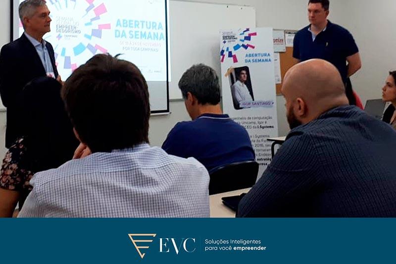 EVC participa da semana do empreendedorismo