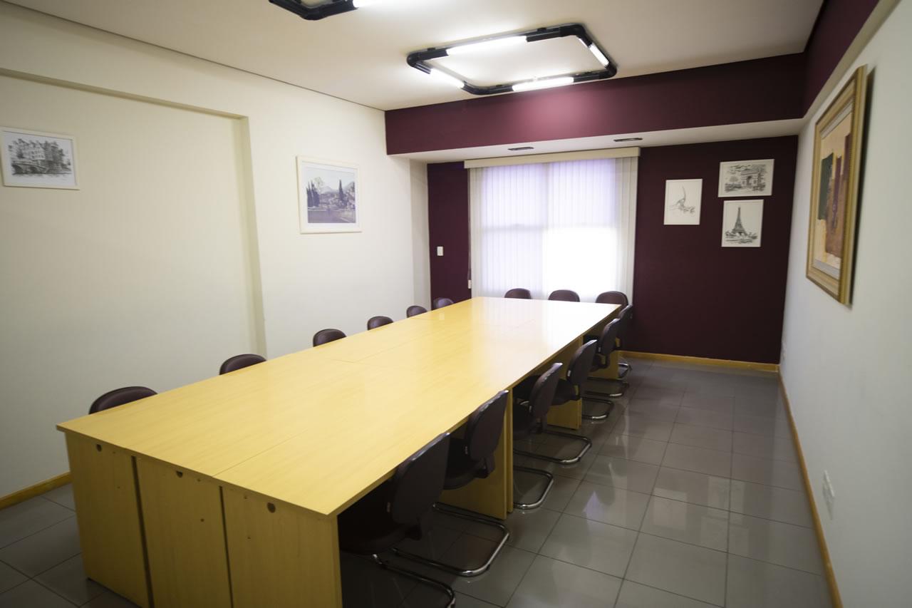 Sala para treinamento